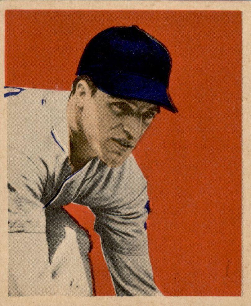 1949 Bowman #32 Eddie Yost RC