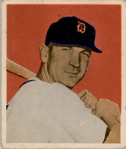 1949 Bowman #56 Pat Mullin RC