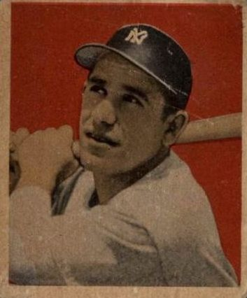 1949 Bowman #60 Yogi Berra