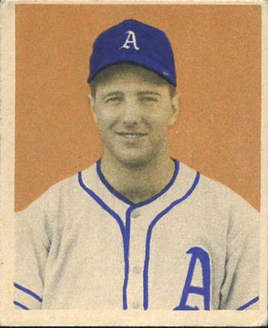 1949 Bowman #80 Bill McCahan