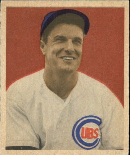 1949 Bowman #83A Bob Scheffing NNOF RC(no player name on front)