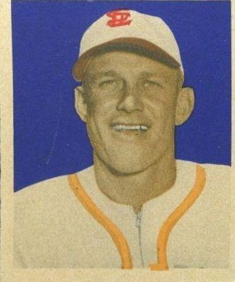 1949 Bowman #89 Mizell Platt RC