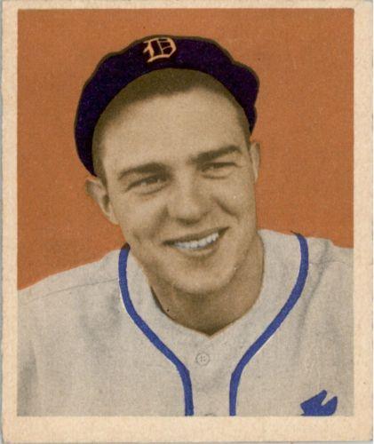 1949 Bowman #91 Dick Wakefield RC