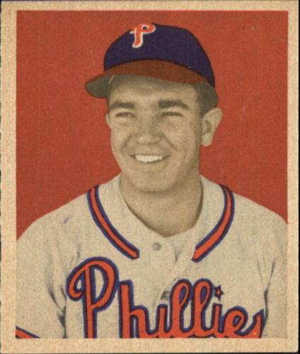 1949 Bowman #92 Willie Jones RC