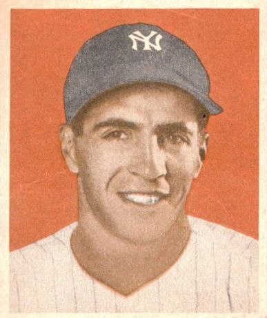 1949 Bowman #98A Phil Rizzuto NNOF(no player name on front)