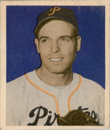 1949 Bowman #99 Frank Gustine RC