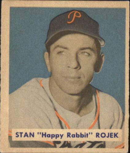 1949 Bowman #135 Stan Rojek RC