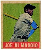 1949 Leaf #1 Joe DiMaggio