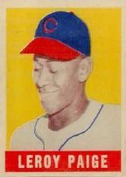 1949 Leaf #8 Satchel Paige SP RC
