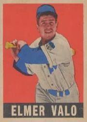 1949 Leaf #29 Elmer Valo RC
