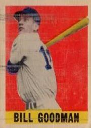 1949 Leaf #30 Billy Goodman SP RC
