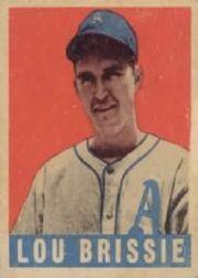 1949 Leaf #31 Lou Brissie RC