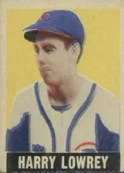 1949 Leaf #33 Peanuts Lowrey SP RC