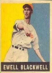 1949 Leaf #39 Ewell Blackwell