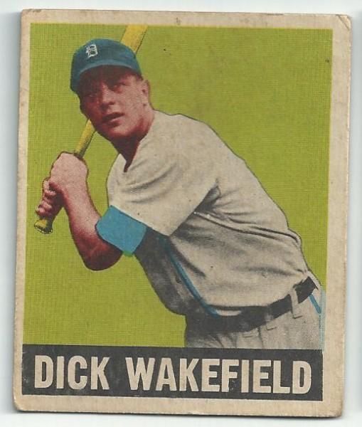 1949 Leaf #50 Dick Wakefield RC
