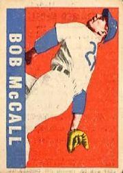 1949 Leaf #57 Bob McCall RC