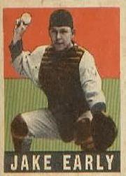 1949 Leaf #61 Jake Early RC