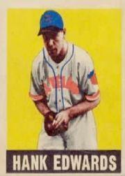 1949 Leaf #72 Hank Edwards RC