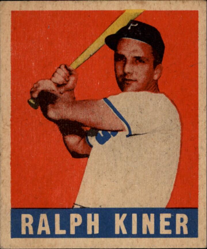 1949 Leaf #91 Ralph Kiner