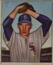 1950 Bowman #5 Bob Kuzava RC