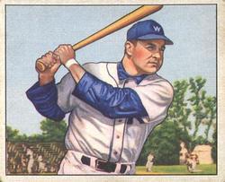 1950 Bowman #18 Eddie Robinson RC