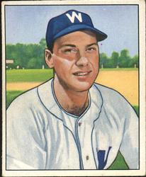 1950 Bowman #53 Clyde Vollmer RC