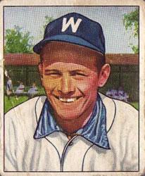 1950 Bowman #54 Gil Coan