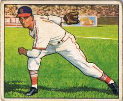 1950 Bowman #72 Howie Pollet