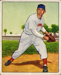 1950 Bowman #80 Howard Fox RC