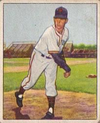 1950 Bowman #83 Sheldon Jones