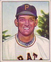 1950 Bowman #87 Bill Werle RC