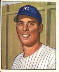 1950 Bowman #100 Vic Raschi