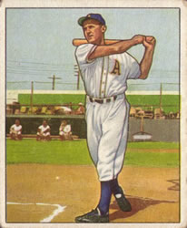 1950 Bowman #104 Sam Chapman