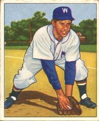 1950 Bowman #107 Sam Dente RC