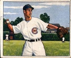 1950 Bowman #114 Wayne Terwilliger RC