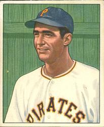 1950 Bowman #123 Dino Restelli RC