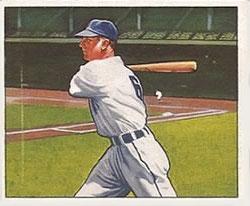1950 Bowman #135 Pat Mullin