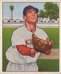 1950 Bowman #173 Lloyd Merriman RC