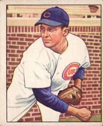 1950 Bowman #196 Doyle Lade