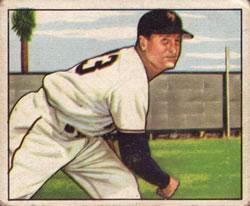 1950 Bowman #199 Jack Kramer