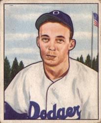 1950 Bowman #224 Jack Banta RC