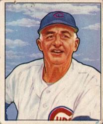 1950 Bowman #229 Frankie Frisch MG