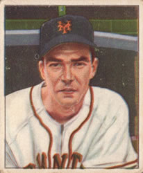 1950 Bowman #235 Harold Gilbert RC