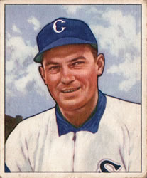 1950 Bowman #237 Bill Salkeld