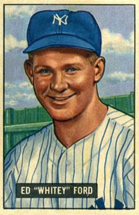 1951 Bowman #1 Whitey Ford RC