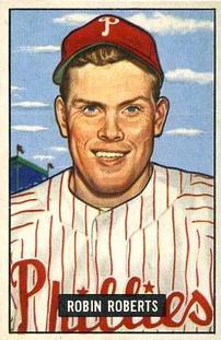 1951 Bowman #3 Robin Roberts