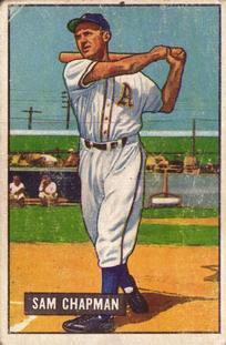 1951 Bowman #9 Sam Chapman