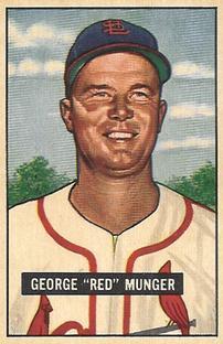 1951 Bowman #11 George Munger