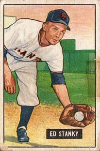 1951 Bowman #13 Eddie Stanky