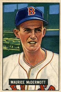 1951 Bowman #16 Maurice McDermott